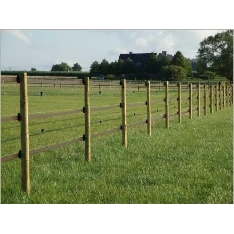 ruban pour cl ture lectrique 47mm sans conducteur 100m hippo safety fence. Black Bedroom Furniture Sets. Home Design Ideas