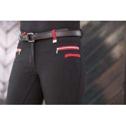 "Pantalon d'équitation ""BOSTON"" Softshell Silicone Pro-Team"