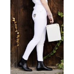 """Pantalon d'équitation """"MRS BLINK BLINK WHITE"""" 1/1 HKM Pro-Team"""