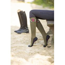 """Chaussettes d'équitation """"POLO CLASSIC BATCH"""" by Lauria Garrelli"""