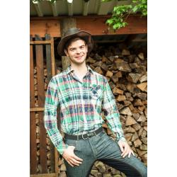 "Chemise western Hommes ""DALLAS"" by HKM Texas"