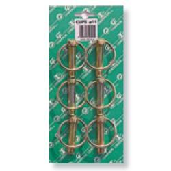 Goupille clips - Diam. de 7 à 11mm - Skin de 6 pièces