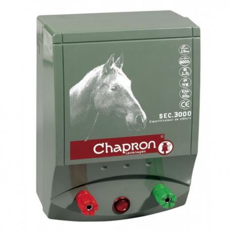 Électrificateur de clôture Chapron SEC 3 000 -Secteur- 8 500V/1,8J