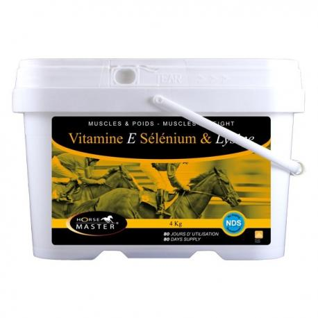 Horse Master - VSL (Vitamines E - Sélénium - Lysine)