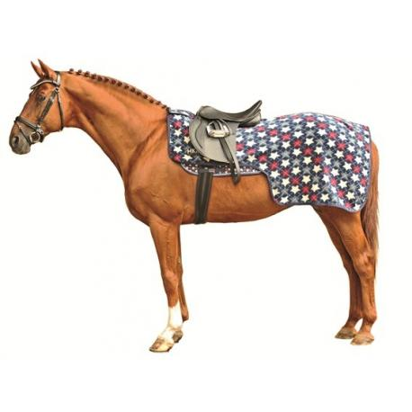 Couvre-reins HKM -STARS ALLOVER-