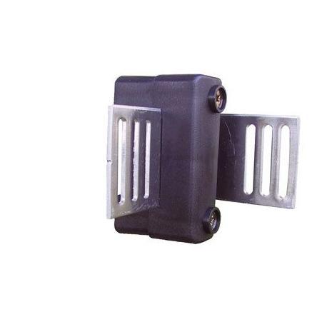 Isolateur d'angle à plaque métallique (par 2)