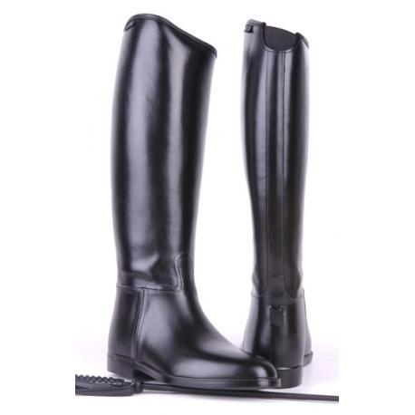 Bottes d'équitation look cuir avec élastique HKM