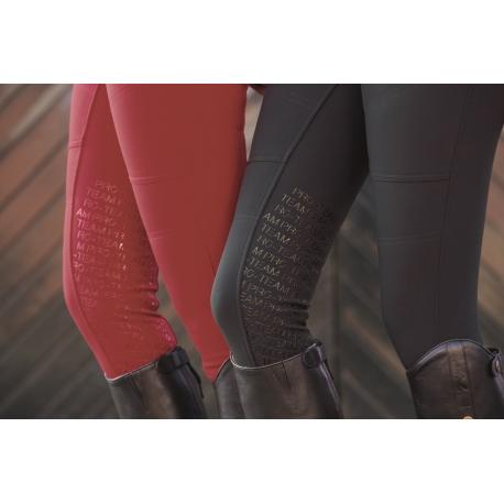 "Pantalon d'équitation ""BOSTON"" Softshell Silicone Pro-Team"