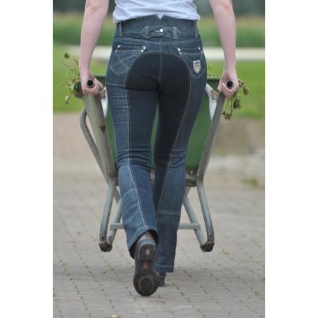 "Pantalon d'équitation ""MISS BLINK"" 1/1 Jodhpur HKM Pro-Team"