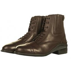 """Boots Jodhpur en cuir à lacets """"PROFI"""" HKM"""
