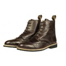 """Boots d'équitation en cuir """"REX GIBRALTAR"""" à lacets HKM"""