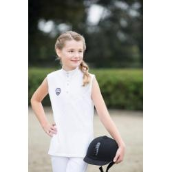 "Polo de concours ""GLOBAL TEAM"" sans manches by Pro-Team"