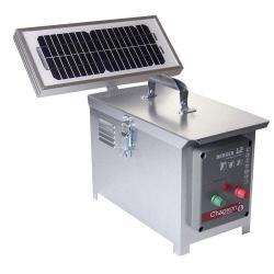 Électrificateur de clôture BERGER 12 -Accu/Pile- 8 200V/1,9J + Solaire 5W - Chapron