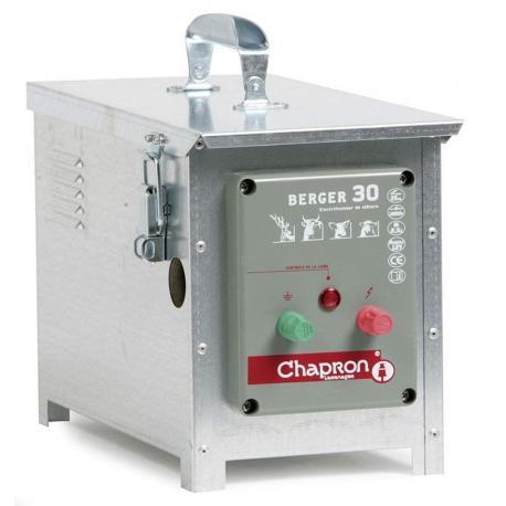 Électrificateur de clôture Chapron BERGER 30 -Accu- 15 000V/2,5J