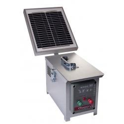 Électrificateur de clôture BERGER 30 -Accu- 15 000V/2,5J + Solaire 10W - Chapron