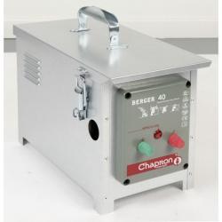 Électrificateur de clôture BERGER 40 -Accu- 15 000V/3J - Chapron