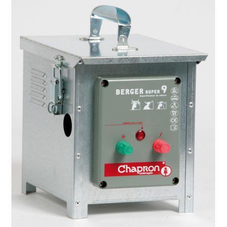 Électrificateur de clôture Chapron BERGER SUPER 9 -Accu/Pile- 10 000V/0,7J