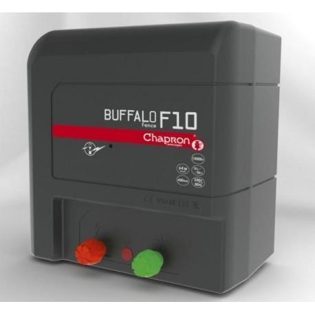 Électrificateur de clôture Chapron BUFFALO FENCE F10 -Secteur- 12 000V/10J