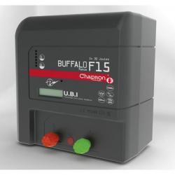 Électrificateur de clôture BUFFALO FENCE F15 -Secteur- 15 000V/15J - Chapron