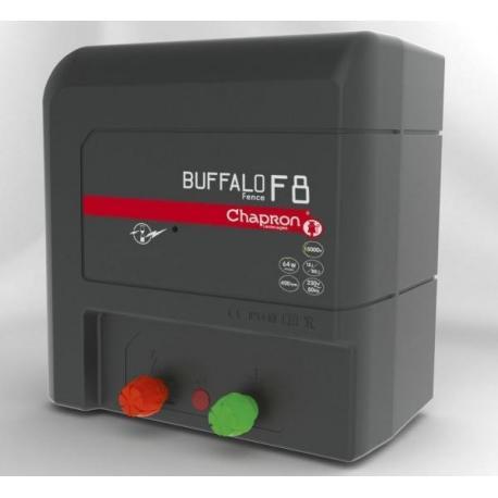 Électrificateur de clôture Chapron BUFFALO FENCE F8 -Secteur- 12 000V/8J