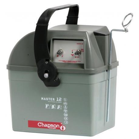 Électrificateur de clôture Chapron MASTER 12 -Accu/Pile- 8 200J/1,9J