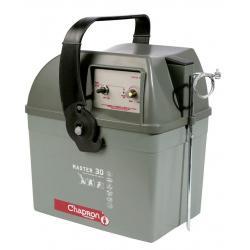 Électrificateur de clôture MASTER 30.2 -Accu- 15 000V/2,5J - Chapron