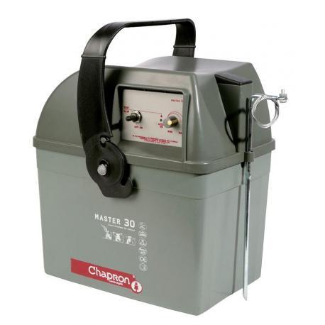 Électrificateur de clôture Chapron MASTER 30 -Accu- 15 000V/2,5J