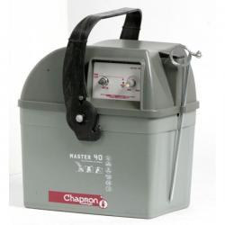 Électrificateur de clôture MASTER 40.2 -Accu- 15 000V/3J - Chapron