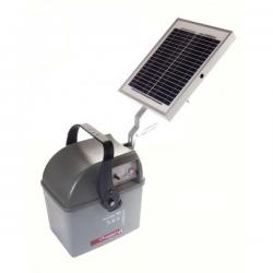 Électrificateur de clôture MASTER 40.2 -Accu- 15 000V/3J + Solaire 10W - Chapron