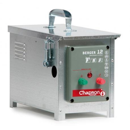 Électrificateur de clôture Chapron BERGER 12 -Accu/Pile- 8 200V/1,9J
