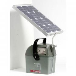 Électrificateur de clôture MASTER 50.2 -Accu- 10 000V/4,5J + Solaire 30W + Régulateur - Chapron