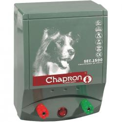 Électrificateur de clôture Chapron SEC 1 500 CANINS -Secteur- 7 000V/1,3J