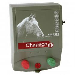 Électrificateur de clôture Chapron SEC 1 500 EQUINS -Secteur- 7 000V/1,3J