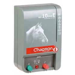 Électrificateur de clôture Chapron SEC 10 000 EQUINS -Secteur- 13 500V/4,5J