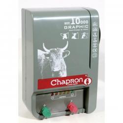 Électrificateur de clôture GRAPHIC 10 000 -Secteur- 13 500V/4,5J - Chapron