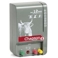 Électrificateur de clôture SEC 12 000/2 sorties -Secteur- 7 500V-13 500V/4,5J - Chapron