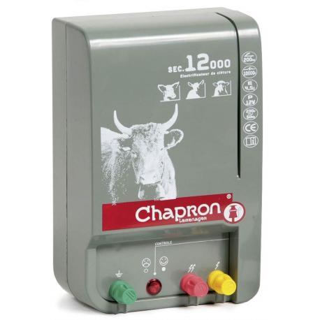 Électrificateur de clôture Chapron SEC 12 000 -Secteur- 7 500V-13 500V/4,5J