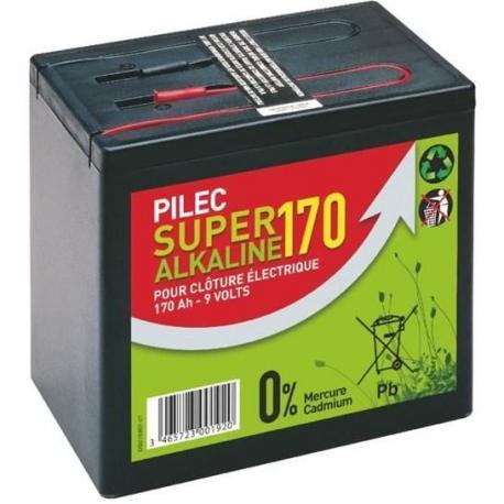 Pile alcaline 9 Volts / 170 Ah