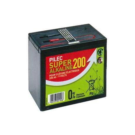 Pile alcaline 9 Volts / 200 Ah