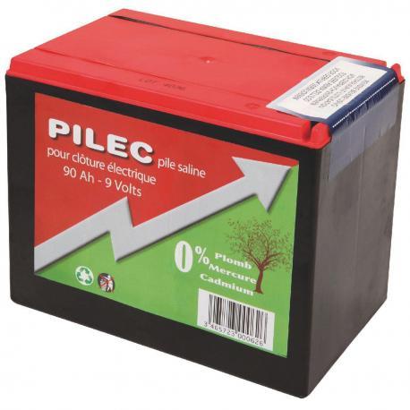 Pile saline 9 Volts / 90 Ah