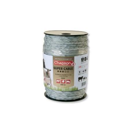 Câble de clôture SUPERCABLE - 250m - Chapron