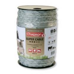 Câble de clôture SUPERCABLE - 500m - Chapron