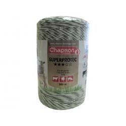 """Cordon de clôture 1 inox/2 cuivre """"SUPERPROTEC"""" -500m- Chapron"""