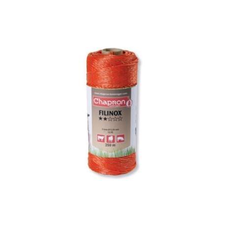 Cordon de clôture 3 inox 20/100 FILINOX - 250m - Chapron