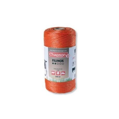 Cordon de clôture 3 inox 20/100 FILINOX - 500m - Chapron