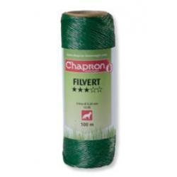 "Cordon de clôture 3 inox ""FILVERT"" -100m- Chapron"