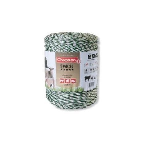 Cordon de clôture 6 inox STAR 30 - 350m - Chapron