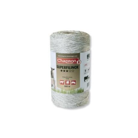 Cordon de clôture 6 inox SUPERFILINOX - 200m - Chapron