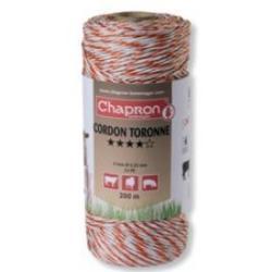 "Cordon de clôture 6 inox ""TORONNE"" -200m- Chapron"