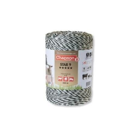 Cordon de clôture 9 inox STAR 9 - 200m - Chapron